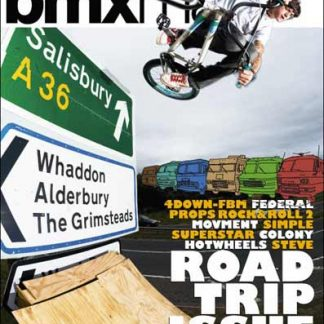 RideUK BMX Mag issue No.108 - October 2007
