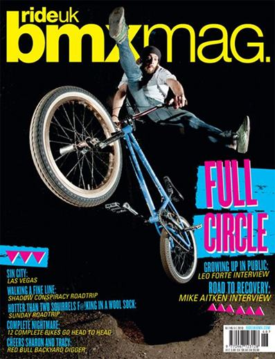 RideUK BMX Mag  issue No.146 - December 2010
