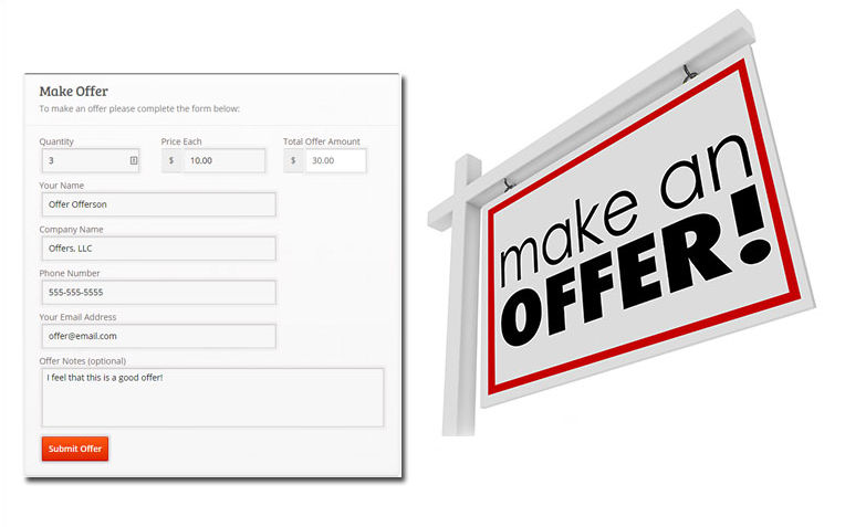 Log In & Make Your Offers...