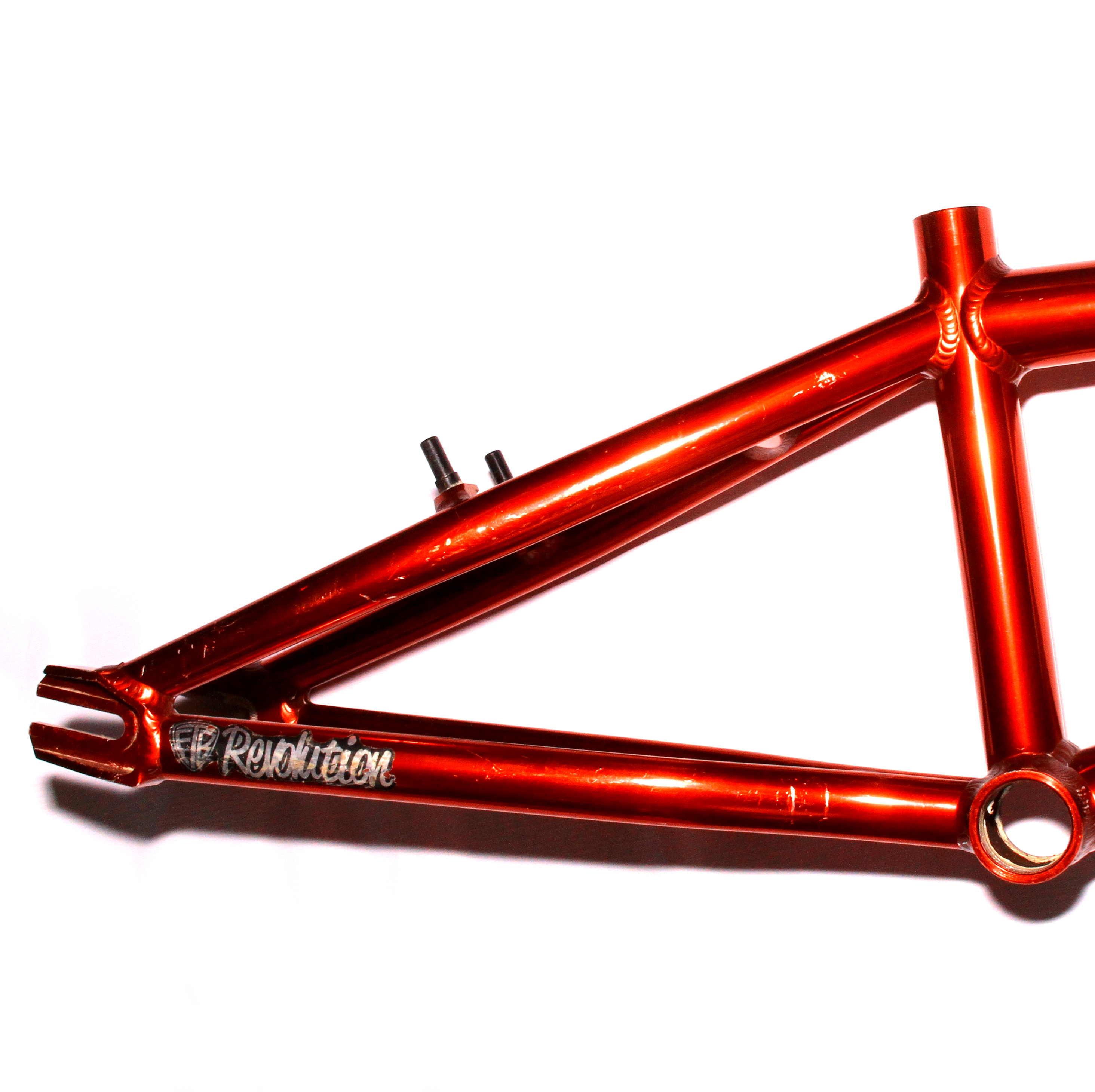 Factory Team Bikes FTB Revolution BMX Frame Red | Get Me Fixed