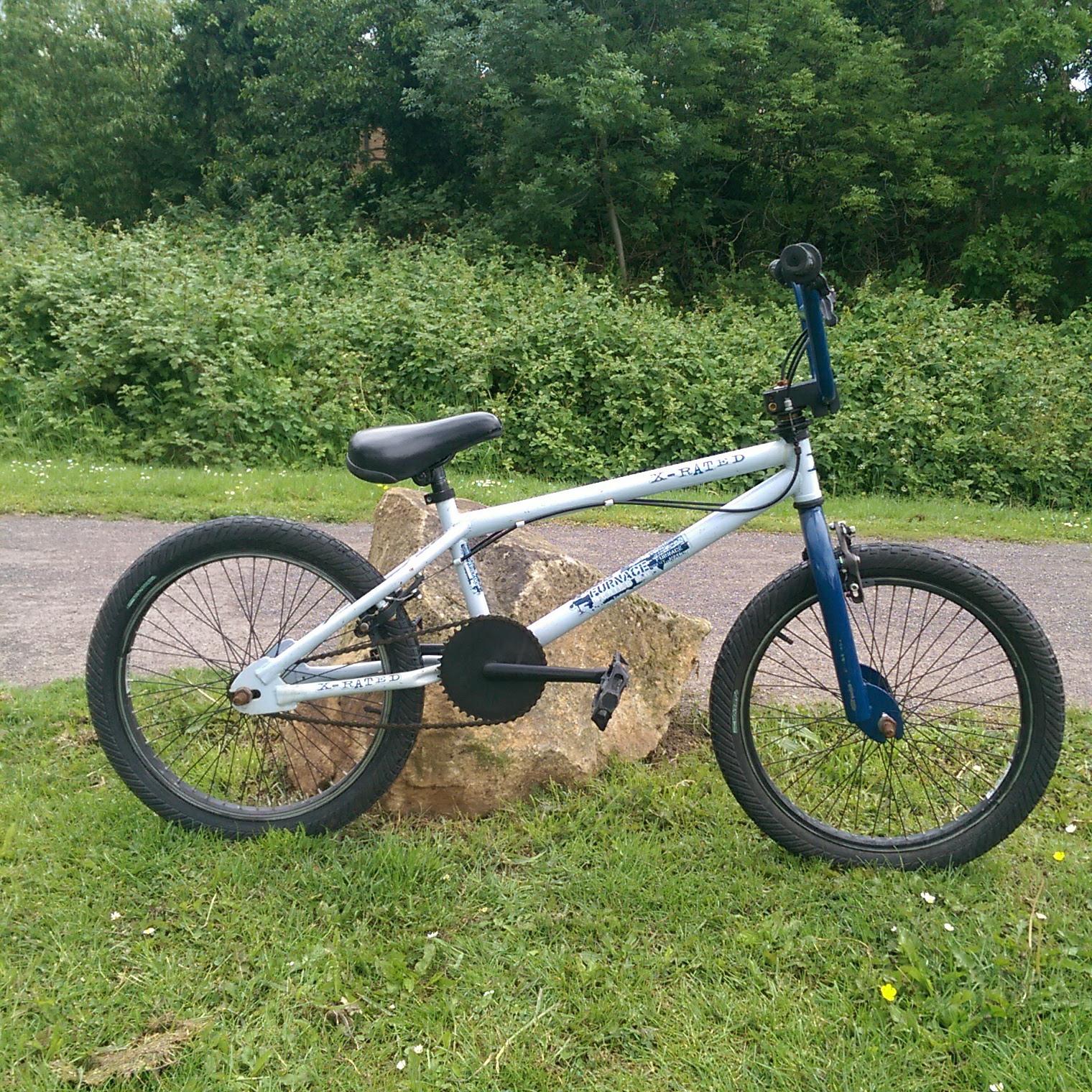X-Rated Hustle BMX Bike Blue