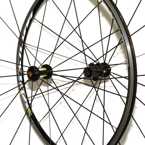 Mavic Aksium WTS Wheelset Black 2015