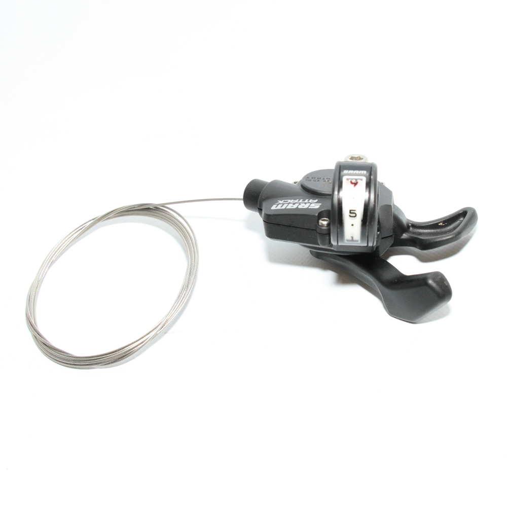 Sram SL Attack Black 9 Speed Mountain Bike Trigger Rear Shifter