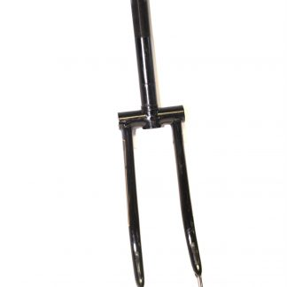 """Vintage Black Gold Pin Stripe Forks ∅1"""" x 205mm Threaded Steerer for 18"""" Shopper"""