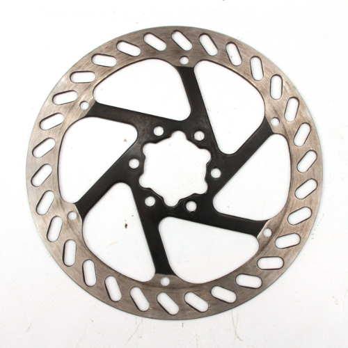 Grimeca Disc Brake Rotor 160mm Silver Black 6 Bolt Pair