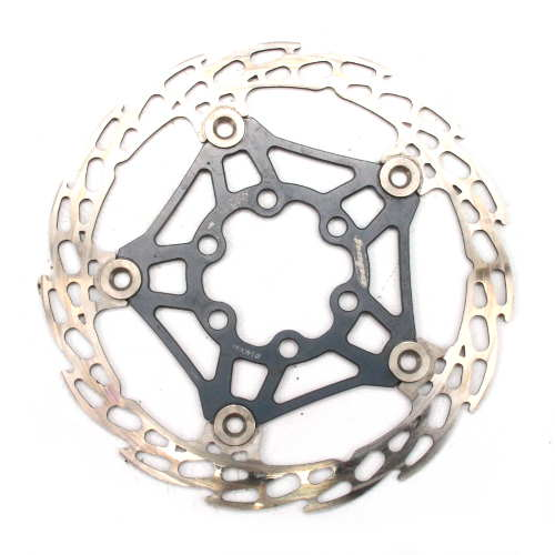 Hope Floating 140mm Gun Metal Grey Disc Rotor 6 Bolt