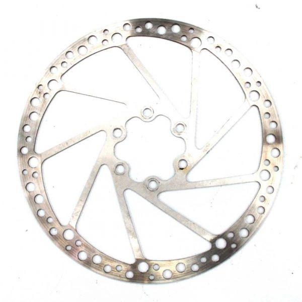 Hope Mono Mini 163mm Silver Disc Rotor 6 Bolt