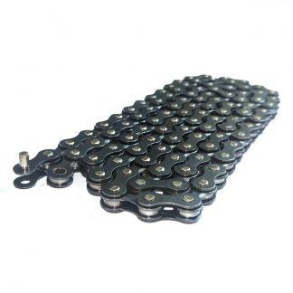 "Taya TB-408 Bicycle Chain 1/2""x3/32"" 100-Link or 200-Link Length Black 5/6 spd"