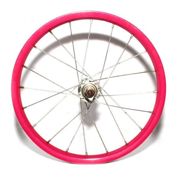"""16"""" Front Steel Pink Wheel"""