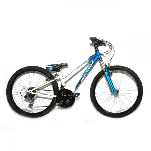 "Apollo XC.24 Kids 24"" Mountain Bike 18 Spd 12"" Frame Front Suspension"