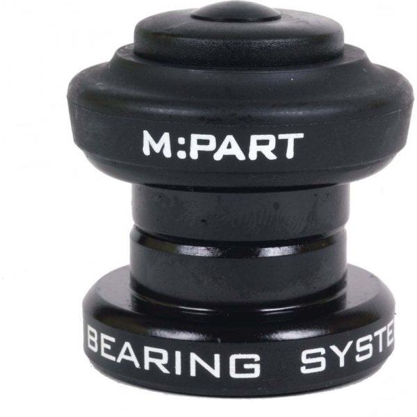 M:Part Sport 1 Inch Threadless Headset - Black