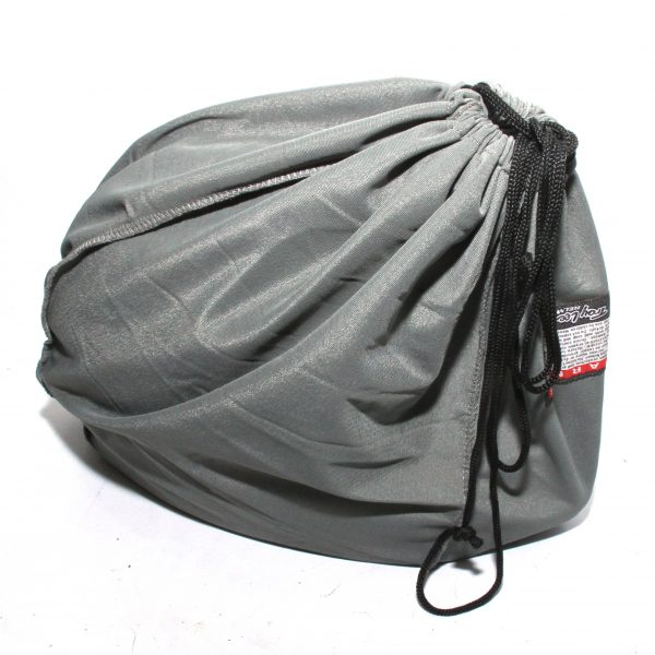 TLD TroyLee Designs Full Face Soft Helmet Bag Drawstring Cycling Gear Sack Grey