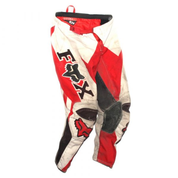 Fox Racing 180 HC Anthem Pant Red / White Kids