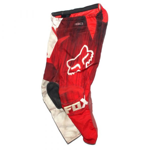 Fox Racing 180 Red / White Kids Race Pants