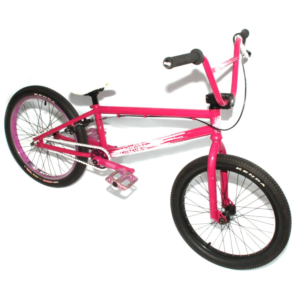 WTP We The People Addict 20-inch BMX Bike Raspberry Pink
