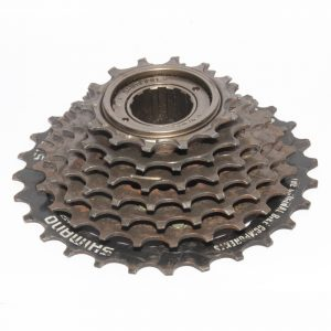 Shimano Tourney MF-TZ07 14-28T 7 Speed Threaded Thread-on Freewheel