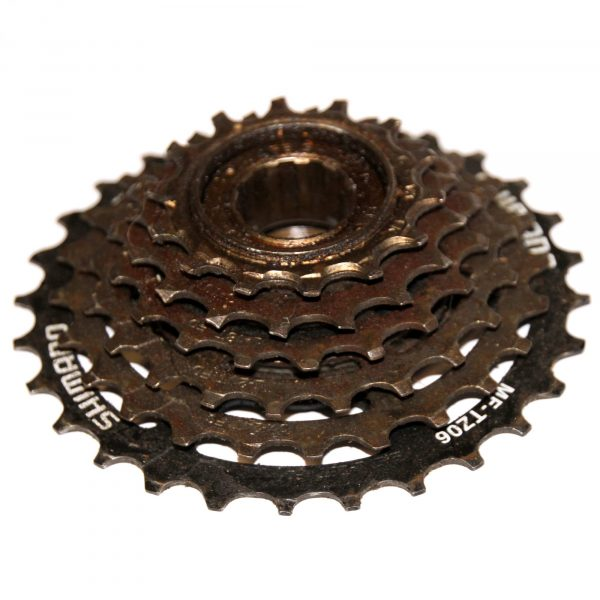 Shimano MF-TZ06 SiS 6 Speed Cassette 14-28T Threaded Multiple Freewheel