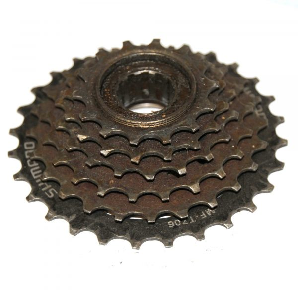 Shimano MF-TZ06 SiS 6 Speed 14-28T Threaded Multiple Freewheel