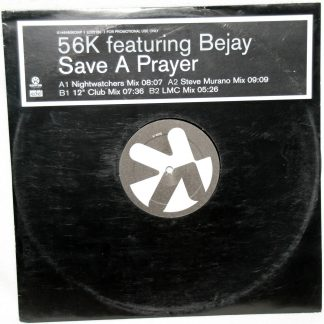 "56K feat. Bejay - Save A Prayer 12"" Vinyl"