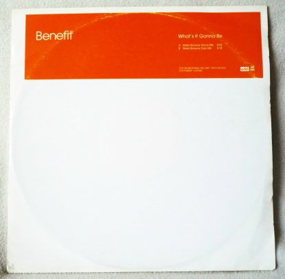 "Benefit - What's It Gonna Be 12"" Vinyl"