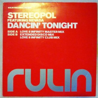 "Stereopol feat. Nevada - Dancin' Tonight 12"" Vinyl"