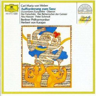 Carl Maria von Weber - Weber: Aufforderung zum Tanz (1987) CD