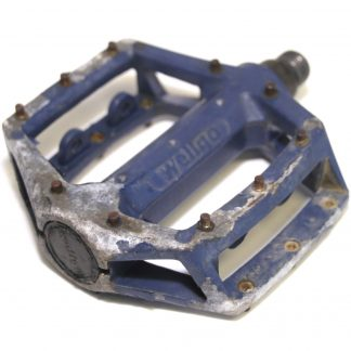 "Wellgo LU-313 K79 Blue Alloy Spare Left Pedal 9/16"" BMX"