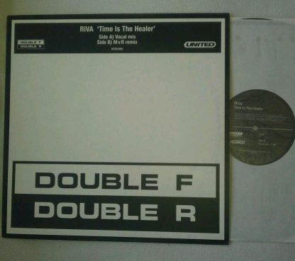 """RIVA """"Time Is The Healer"""" United Records PROMO Vinyl Record 12"""" EP"""
