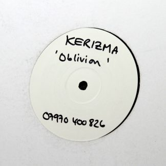 "Kerizma - 'Oblivion' 12"" Vinyl Record"