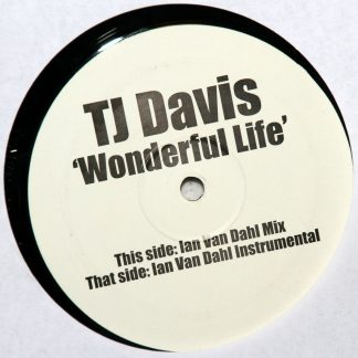 "TJ Davis - Wonderful Life 12"" Vinyl"