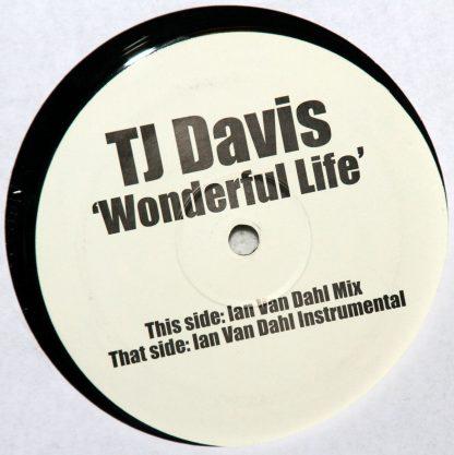 "TJ Davis - Wonderful Life 12"" Vinyl"
