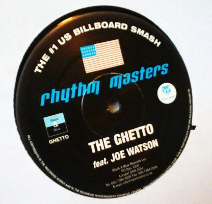 "Rhythm Masters - The Ghetto feat. Joe Watson 12"" Vinyl"