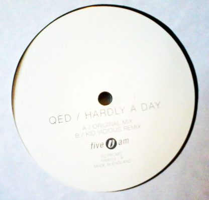 "QED - Hardly A Day 12"" Vinyl"