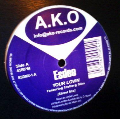 """Esdee - Your Lovin 12"""" Vinyl"""