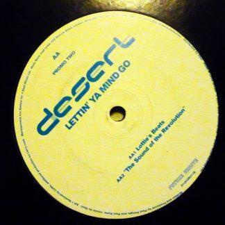 "Desert - Lettin' Ya Mind Go 12"" Vinyl"