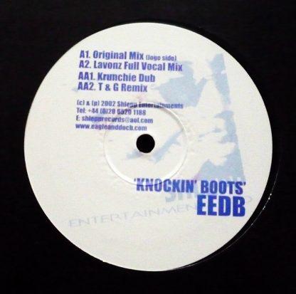 """EEDB - Knockin' Boots 12"""" Vinyl - UK Garage"""