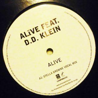 "Alive feat. D.D. Klein - Alive 12"" Vinyl Record 12 AMPMDJ153"