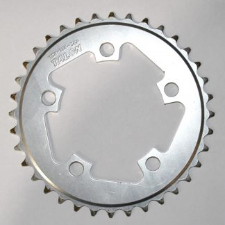 Talon TCR-106-36P Silver 9Spd IG/HG Chainring 36T 94BCD Alloy Compact Outer Ring