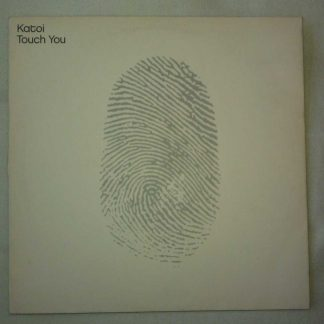 "Katoi Touch You Vinyl Record 12"" EP Record"