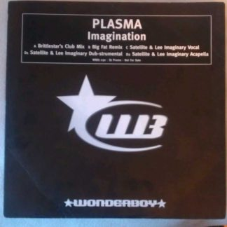"Plasma - Imagination 12"" Vinyl"