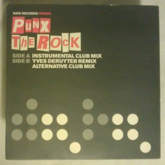 Punk the Rock Data Records Promo DATA38P1 Vinyl 12""