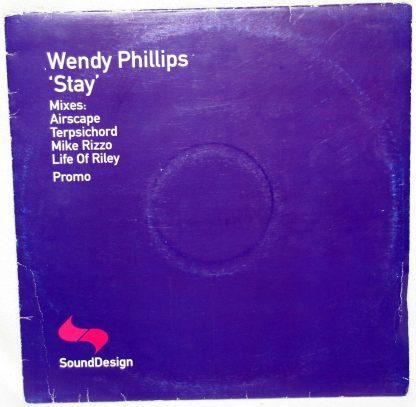 """Wendy Phillips - Stay 12"""" Vinyl"""