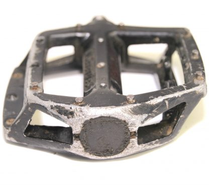 """Seventies Wellgo Black Alloy Spare Right Pedal 1/2"""" BMX Replaceable Pins V8 Copy"""
