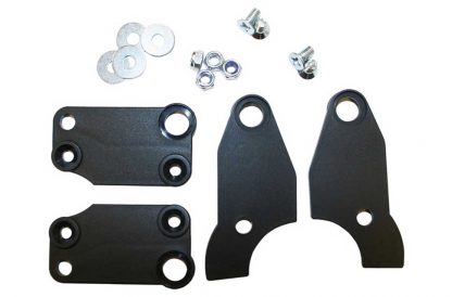 T1466 Tacx CycleForce Turbo Trainer 622mm Wheel Adaptor Plates Set including mounting hardware