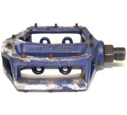 """Wellgo LU-313 K79 Blue Alloy Spare Left Pedal 9/16"""" BMX V8 Copy"""
