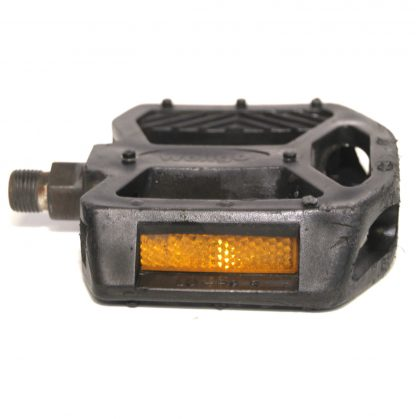 "Wellgo LU-P9 R K20410 Black Plastic Right Pedal 9/16"" BMX"