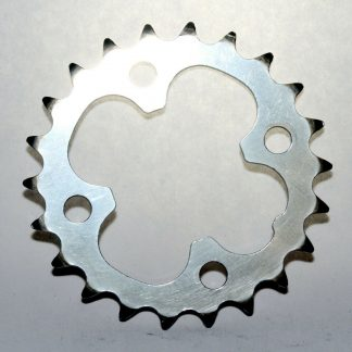 Shimano 10 Spd SG-X M9 S-22/HG X-22 Chainring 22T Inner Ring 64BCD Granny Gear Polished Silver Steel