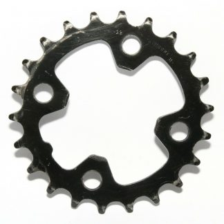 Shimano 9Spd IG/HG M-22/M9 N-22 Chainring 22T Inner Ring 64BCD Granny Gear Black