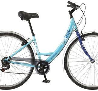 Apollo Metis Ladies Hybrid Bike 700c 16inch Blue