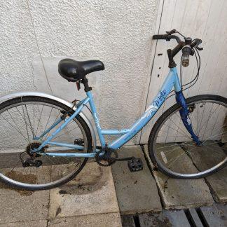 Apollo Metis 700c Ladies City Bike Blue